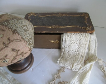 Antique Sewing Box Antique Victorian Sewing Box Sewing Notions