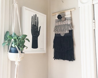 Sale! - WOVEN WALL HANGING (Gray)