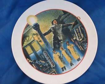 1986 Singin in the Rain Avon Images of Hollywood collectible plate