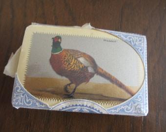 Vintage Waddington Pheasant Playing Cards William Barribal