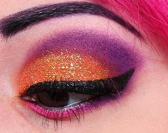 TANGERINE ORANGE Cosmetic Glitter for Makeup, Eye Shadow, Lips, Nail Polish, Body Shimmer & Hair Sparkle (B006)