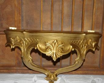 Vintage Florentine Shelf Syroco