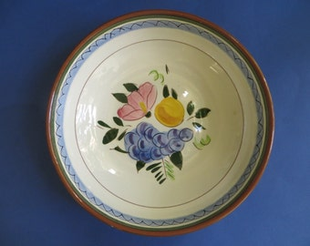 Stangl Fruit and Flowers 8 Inch Vegetable Bowl