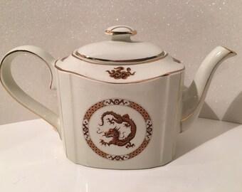 Dragon Teapot by Arthur Wood Porclain Vintage England