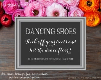 8x10 Flat Help Yourself to a Pair of Dancing Shoes Wedding