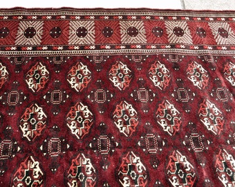Turkoman Bukhara Large Rug -- 10 ft. by 6 ft. 5 in.