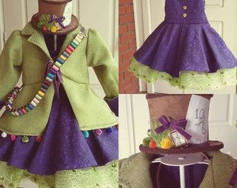 Mad Hatter costume, Alice in Wonderland costume