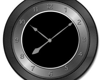 Heavy Metal Wall Clock 2