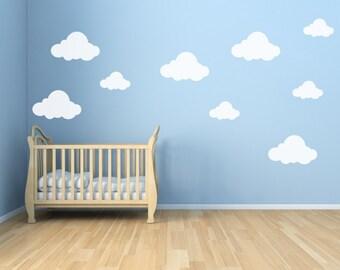 Cloud Decals for Walls - Cloud Decals - Cloud Decals for Nursery 0047