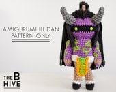 Amigurumi Illidan Stormrage - Pattern Only