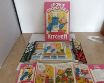 Sesame Street Cookie Monster Colorforms