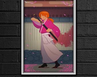 Rurouni Kenshin Print