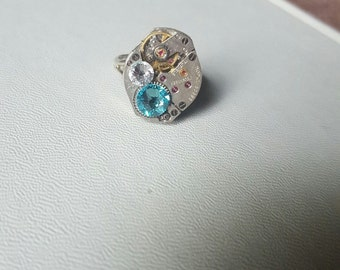 Swarovski watch ring