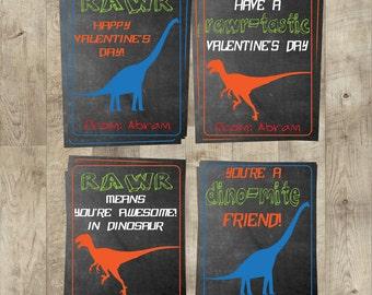 Dinosaur Valentines Day Cards   Kids Valentines Day Cards   DIY Valentines    Boys Valentines