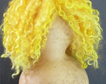 Doll Wig in Sunset Wensleydale Locks
