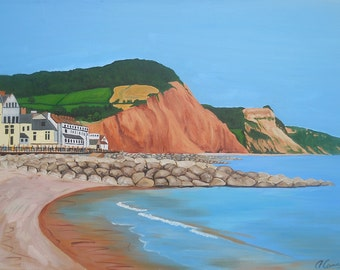 Sidmouth Seafront 2