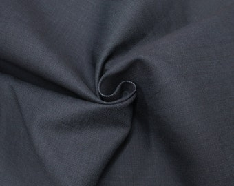 Yiya 188 Dark Navy Cotton Denim Fabric for Jeans, Jackets and Dresses by the yard or wholesale denim - 1 Yard 61217