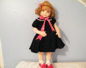 Kayla -Dianna Effner Expressions 24 inch Porcelain Doll   amazing eyes