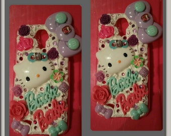 Sweet whipped pink purple blue whipped bling Samsung Galaxy s4 case