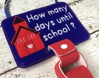 School Countdown Calendar