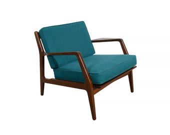 Kofod Larsen Lounge Chair Selig Møbelfabrik Danish Modern
