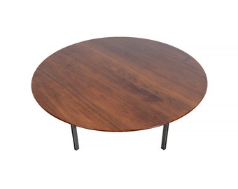 Knoll Parallel Leg Table Walnut Coffee Table Mid Century Modern