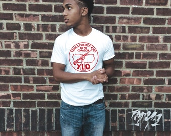 """Revolution NYC Young Lords Party White T-Shirt / """"FREE SHIPPING!"""""""