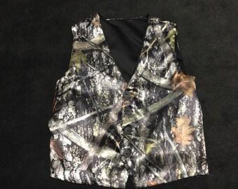 Camouflage mens vest