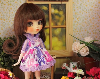 Pullip Blythe doll Kawaii Dress & Jumpsuit