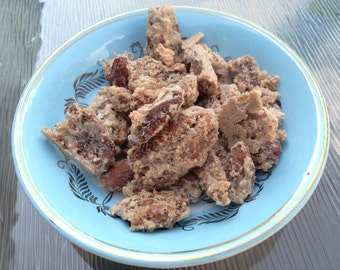 Cinnamon Sugar Candied Pecans