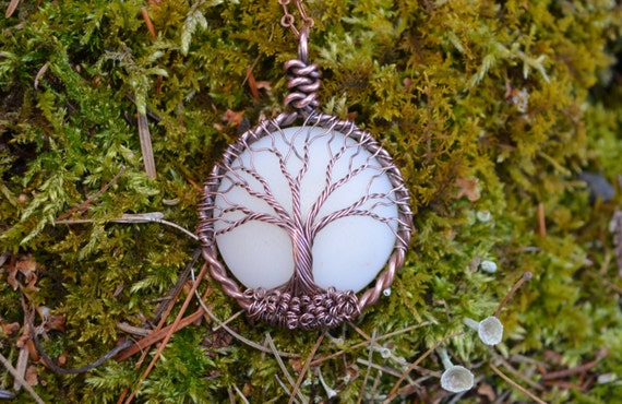 New breastmilk moon dna keepsaketree of life by maidinthewoods for Breastmilk jewelry tree of life