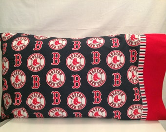 Boston Red Sox pillow case