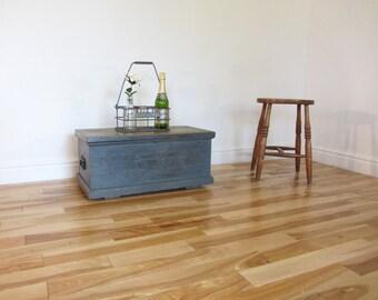 Painted Pine Storage Chest