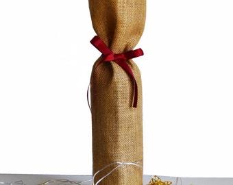 wine bottle covers, burlap wine bottle bags, wine gift bags, wine bottle cover, wine gift bag, wine bag, burlap wine bag, wedding Gift Wrap