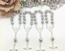 10%off weekend sale 45 pcs Decade Rosaries, Mini Rosaries, Baptism, First communion favors Recuerditos Bautizo / Mini Rosary Baptism Favors