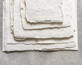 SAMPLE PACKS Blank Handmade Cotton Paper