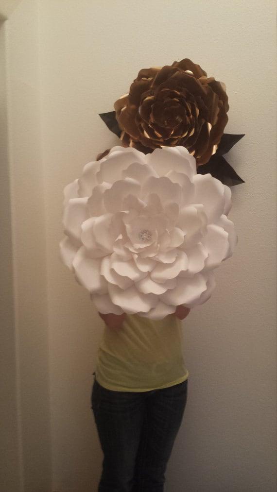 diy large 3d paper flower template paper flower stencil