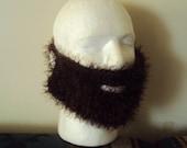 Brown Fake Beard Face Mask Snowboard Mask Ski Mask Men Women Babies Teen to Adult Winter Accessories   Gift Ideas