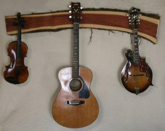 Eastern Red Cedar Instrument Hanger - Item 16002