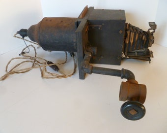Vintage  Photographic Camera  Equipment  Vintage Steampunk Industrial Decor