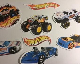 Hot Wheels Die Cuts