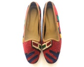 Kilim shoes. US size 10 (EU size 40)