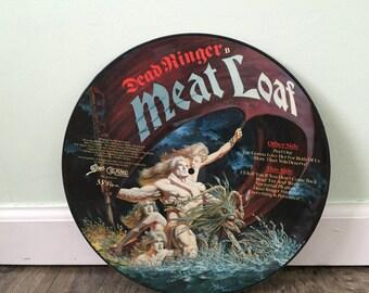 """Meat Loaf """"Deadringer"""" vinyl record"""