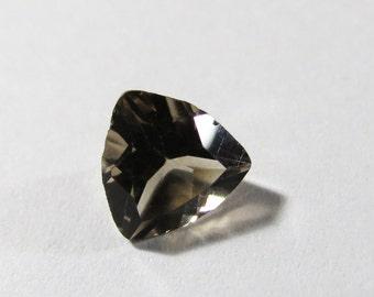 Natural 8mm Trillion Smokey Quartz Gemstone, 8mm Smokey Quartz Gemstone, 8mm Trillion Quartz Gemstone, Smokey Quartz 8mm Faceted Gemstone