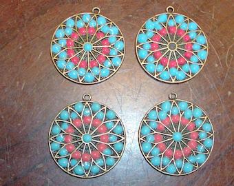 Vintage Craft Medallions