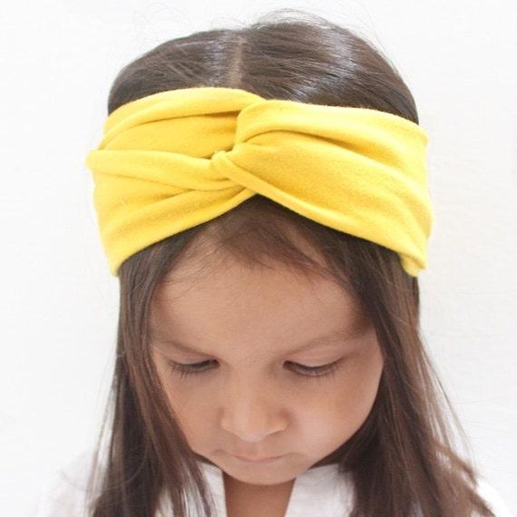 Baby Headband, Baby Headwrap, Baby Turban, Yellow Headband, turban for babies, headband for babies, Turban, Baby headwrap, Turban headband