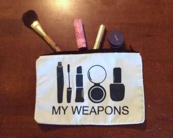 My Weapons Makeup Bag