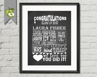 Graduation sign, Graduation Chalkboard Sign, Graduation Party, Decoration Poster,  Memories, student, High School College,  DIY printable