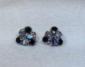 Blue Austria Vintage Earrings