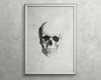 SKULL     modern art gallery print